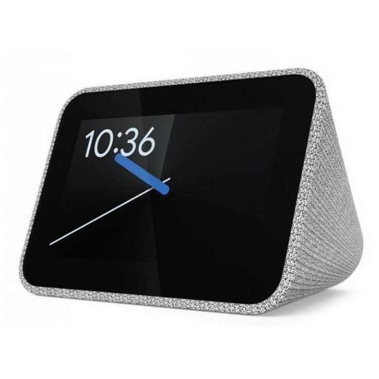 Уже давно в сети появились фотоснимки интересных часов Lenovo Smart Clock Суть в том что настольная модель поддерживает Google Assistant привлекает стильным дизайном