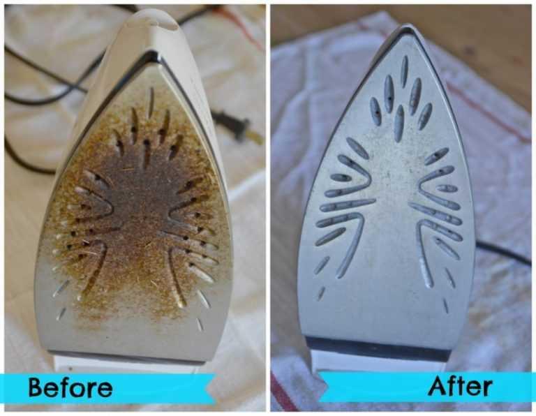 Как почистить утюг с керамическим покрытием в домашних условиях