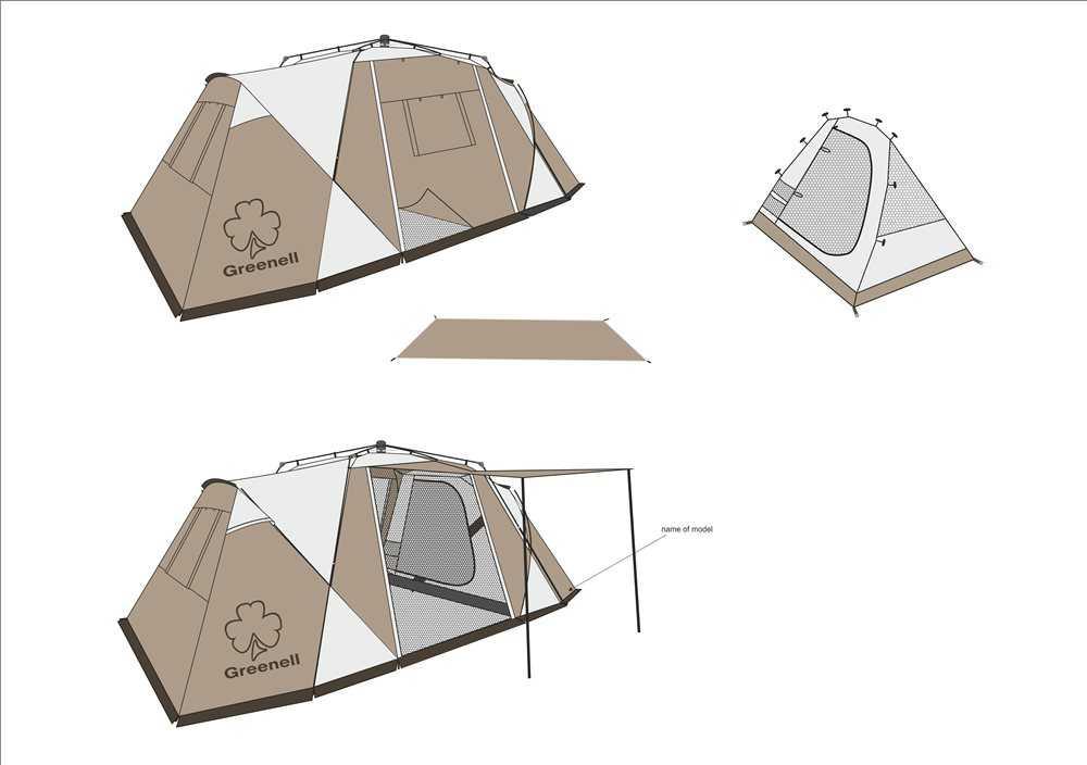 Урок обж: ночуем в палатке