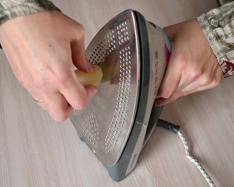 Чистка утюга. как чистить утюг от накипи и нагара - простые советы