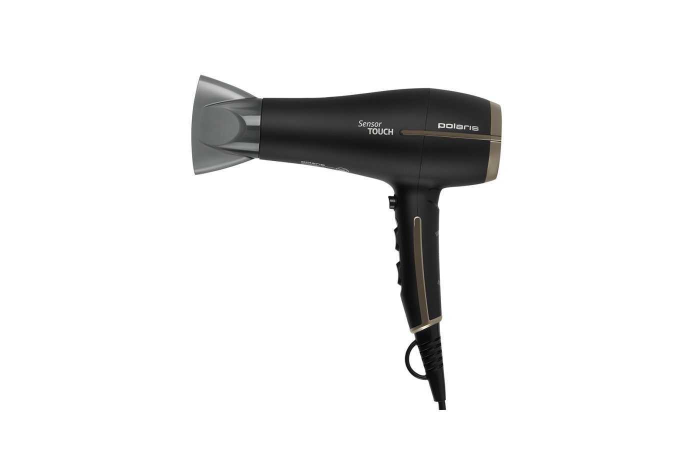Фен polaris phd 2259sti 2200вт черный матовый — купить, цена и характеристики, отзывы