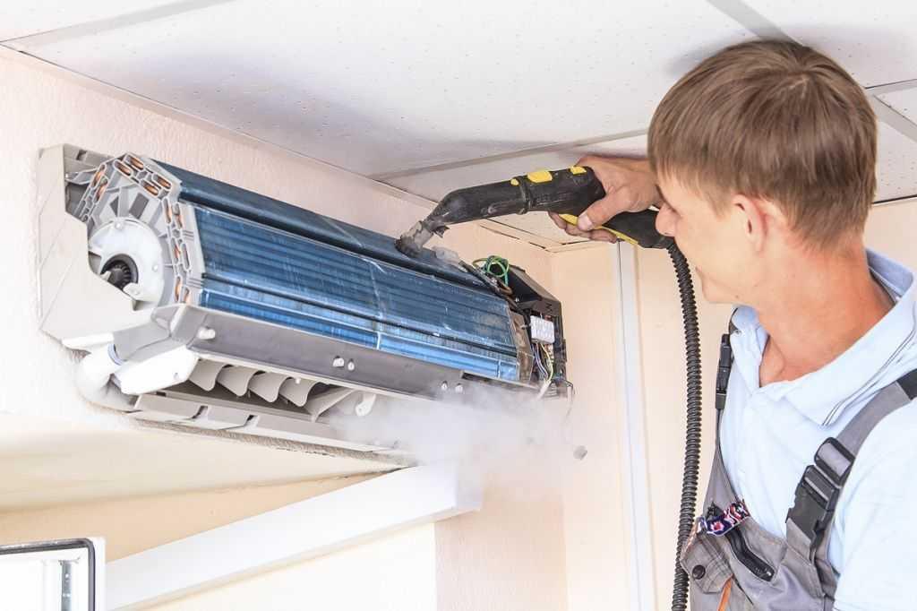 Как провести чистку домашнего кондиционера своими руками