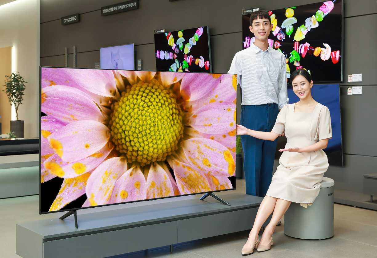 Samsung выпустила 7-метровый телевизор для миллиардеров и мультимиллионеров. видео