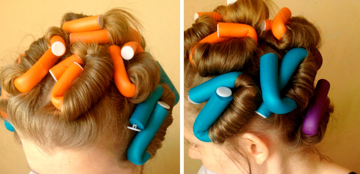 Прочитайте в статье информацию о том какие выбрать бигуди для волос как длинных так и средних Делайте покупки обдуманно