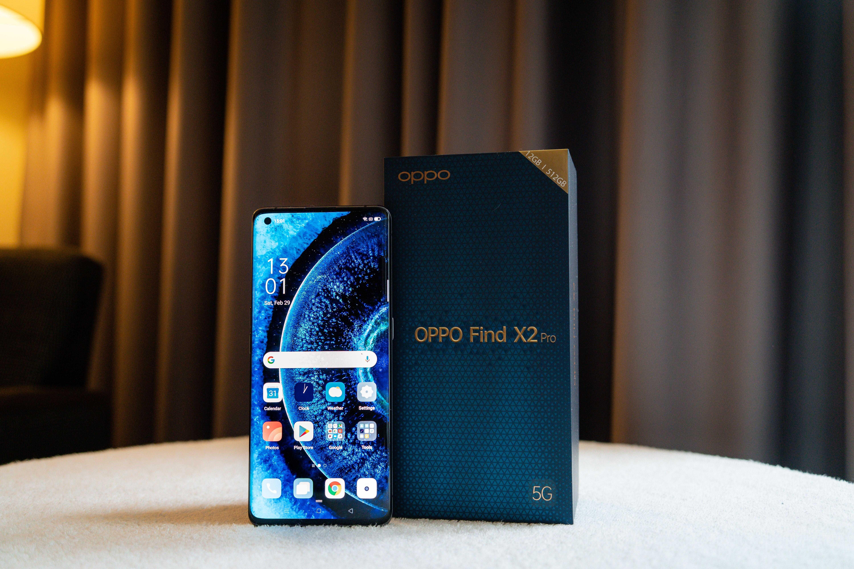 Oppo представила линейку смартфонов find x2