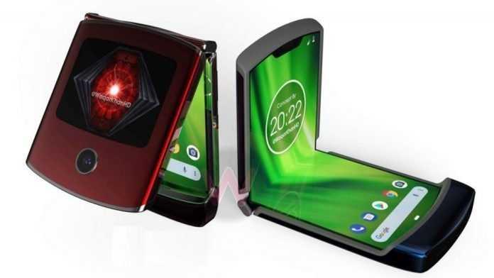 Motorola представила «раскладушку» razr с гибким экраном