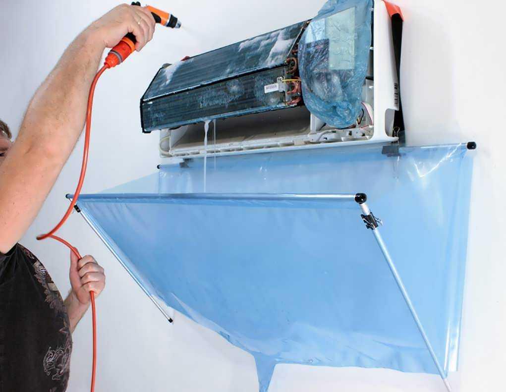 Как почистить оконный кондиционер