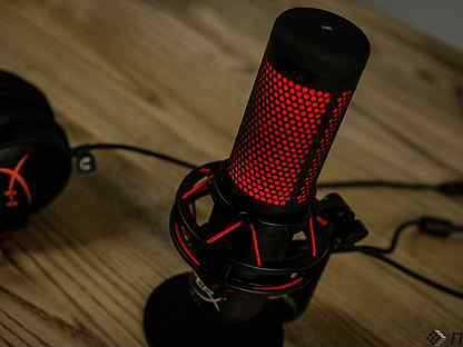 Обзор микрофона для геймеров и стримеров hyperx quadcast s