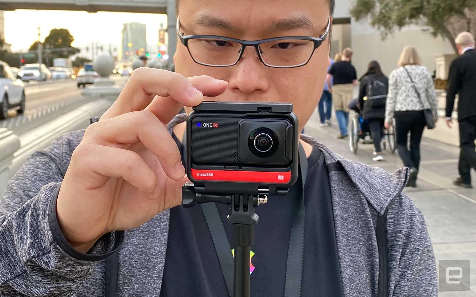 Insta360 one r с оптикой leica / видео / новости фототехники