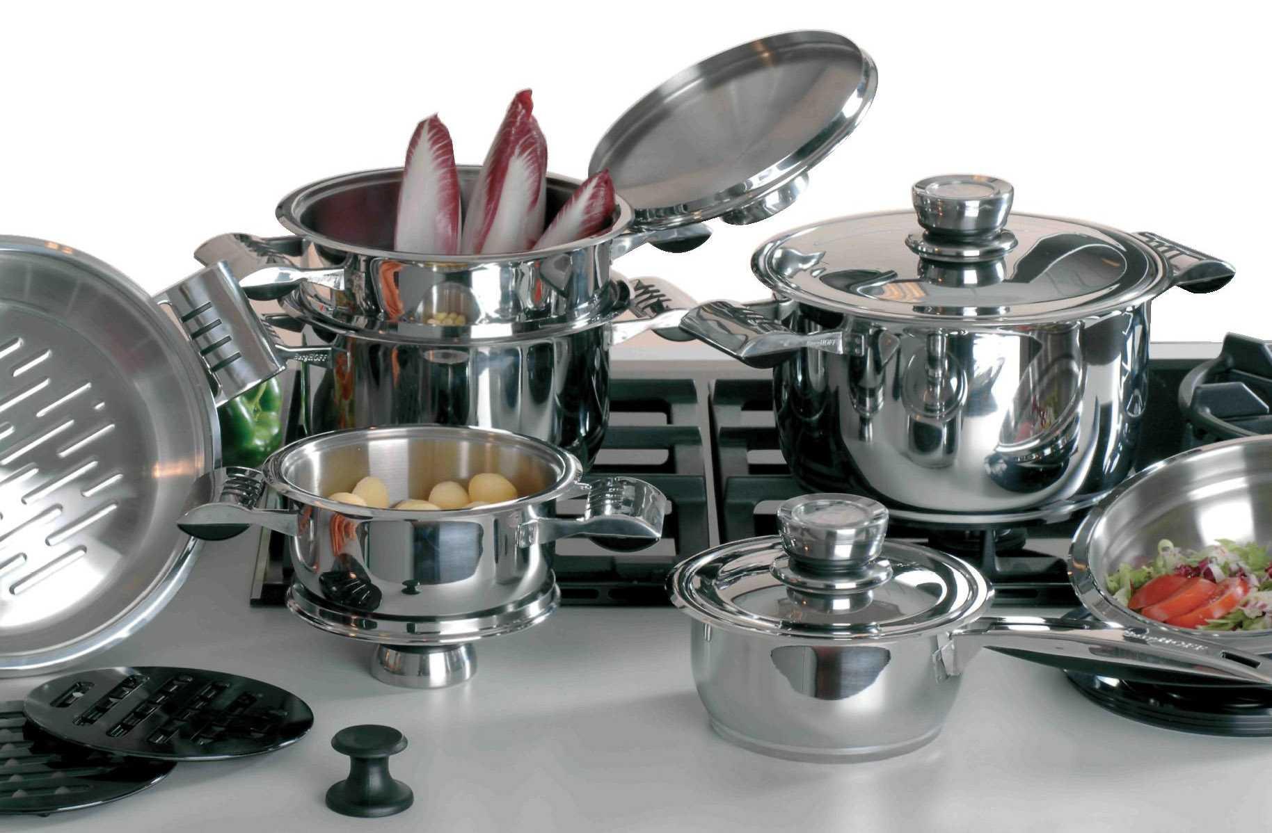 Хорошая посуда из нержавеющей стали, фирмы, критерии выбора
