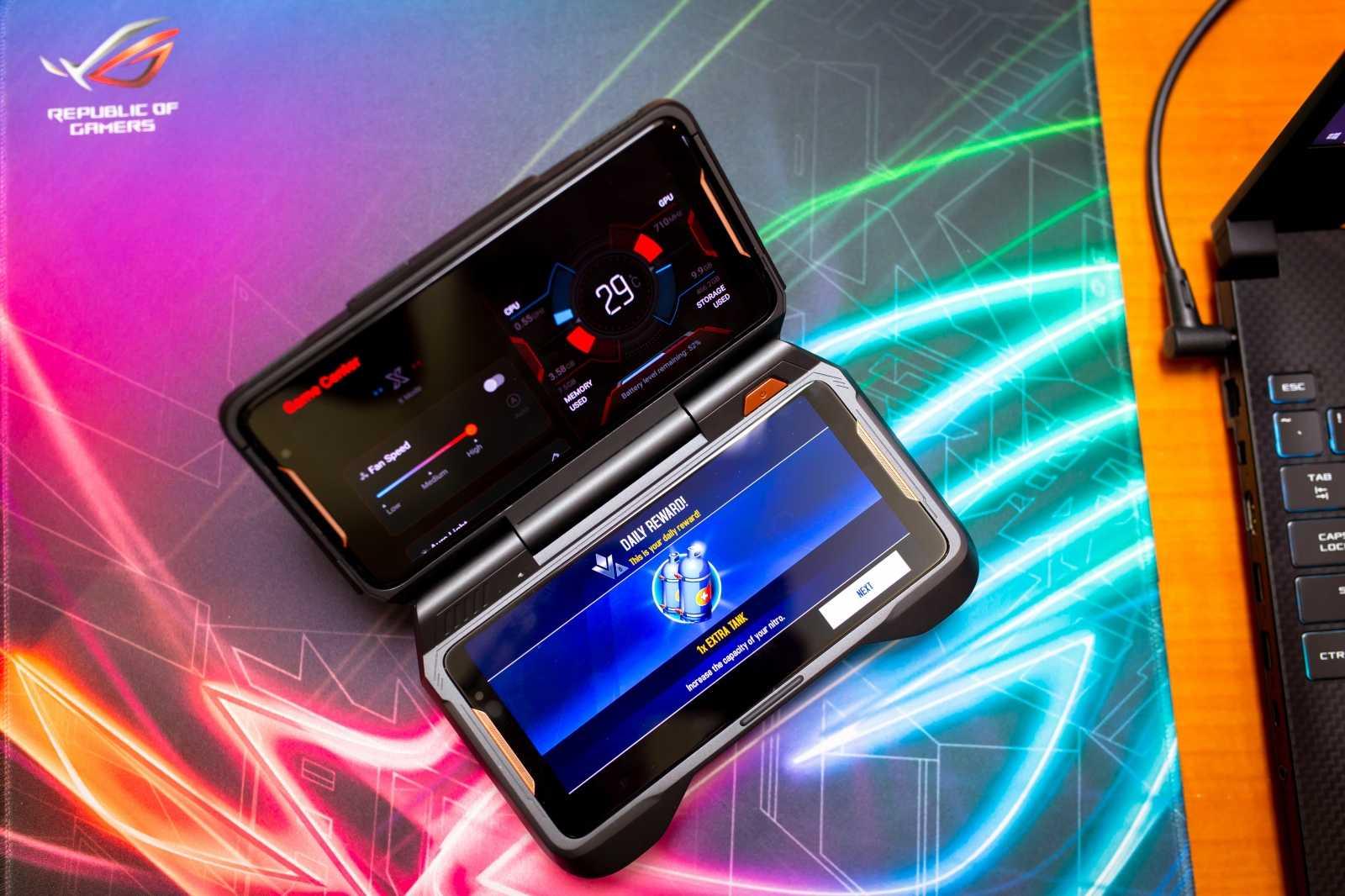 Не так давно стало известно что компания Asus вместе с Tencent Games занимается производством смартфона для геймеров под названием ROG Phone Теперь в сети стали