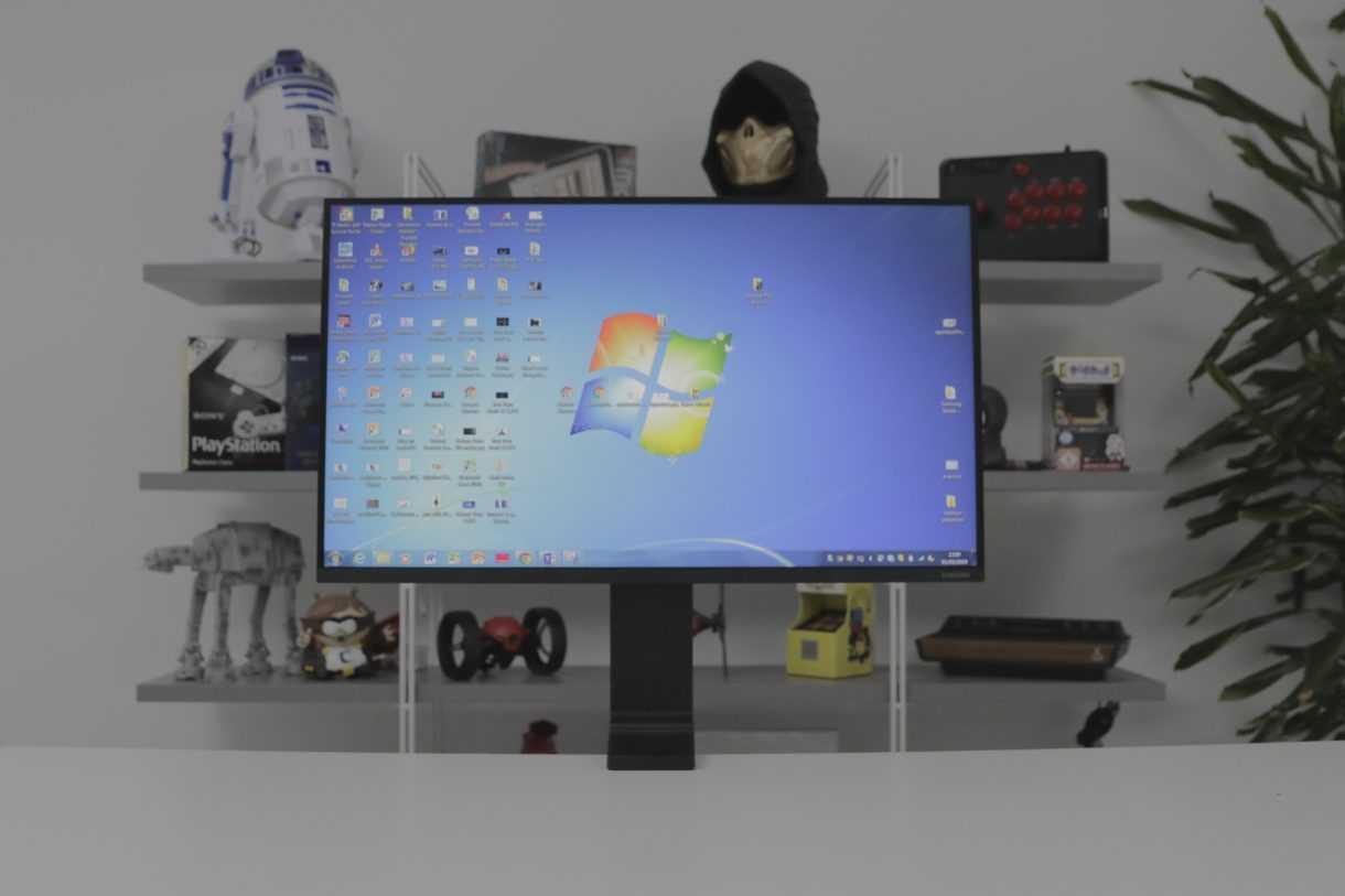 Обзор 27-дюймового монитора samsung space: компактный минимализм / мониторы и проекторы