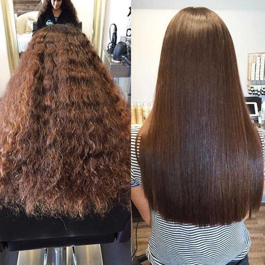 Как сделать выпрямление волос в домашних условиях: 5 способов +народные средства (+отзывы)