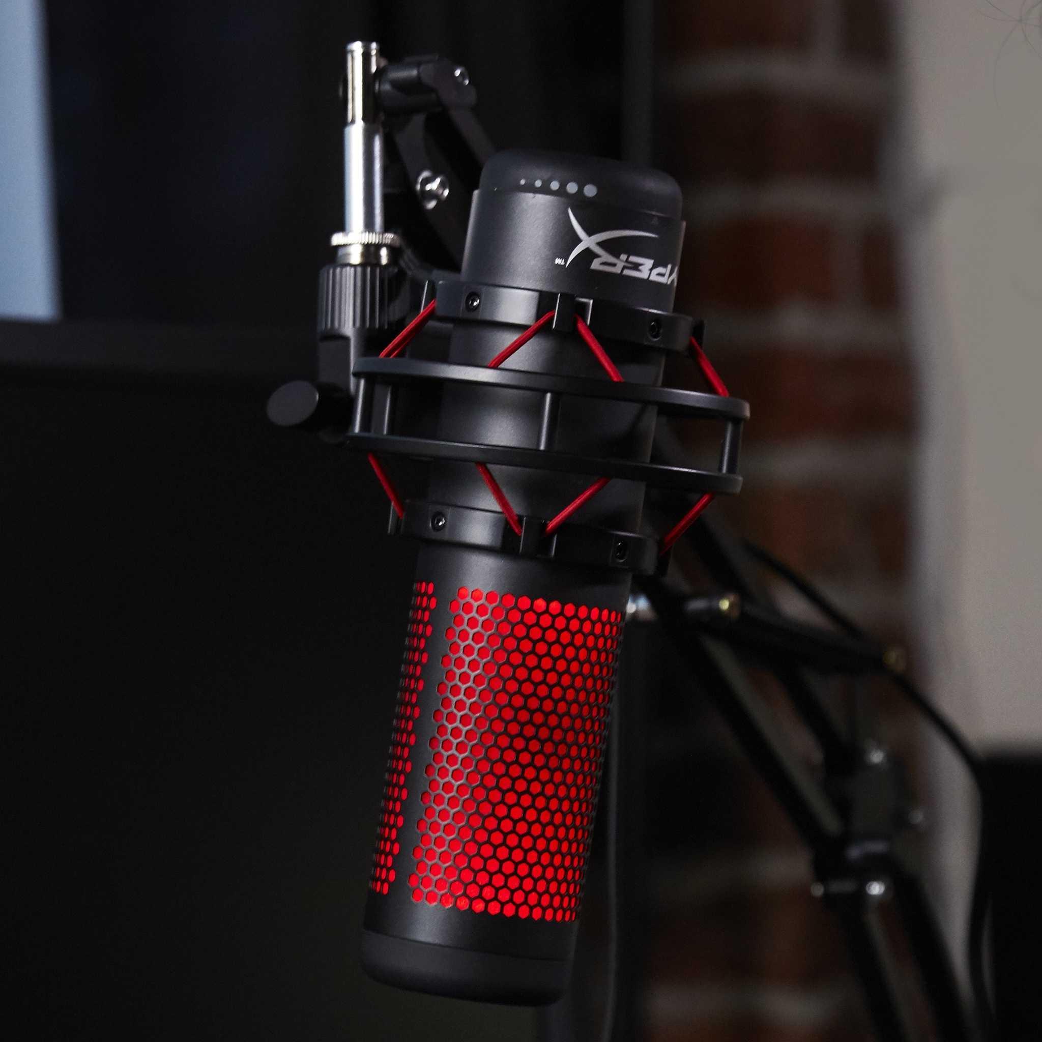Подразделение Kingston компании HyperX представило на суд общественности новый микрофон предназначенный для подкастов и стримов – QuadCast Речь идет о