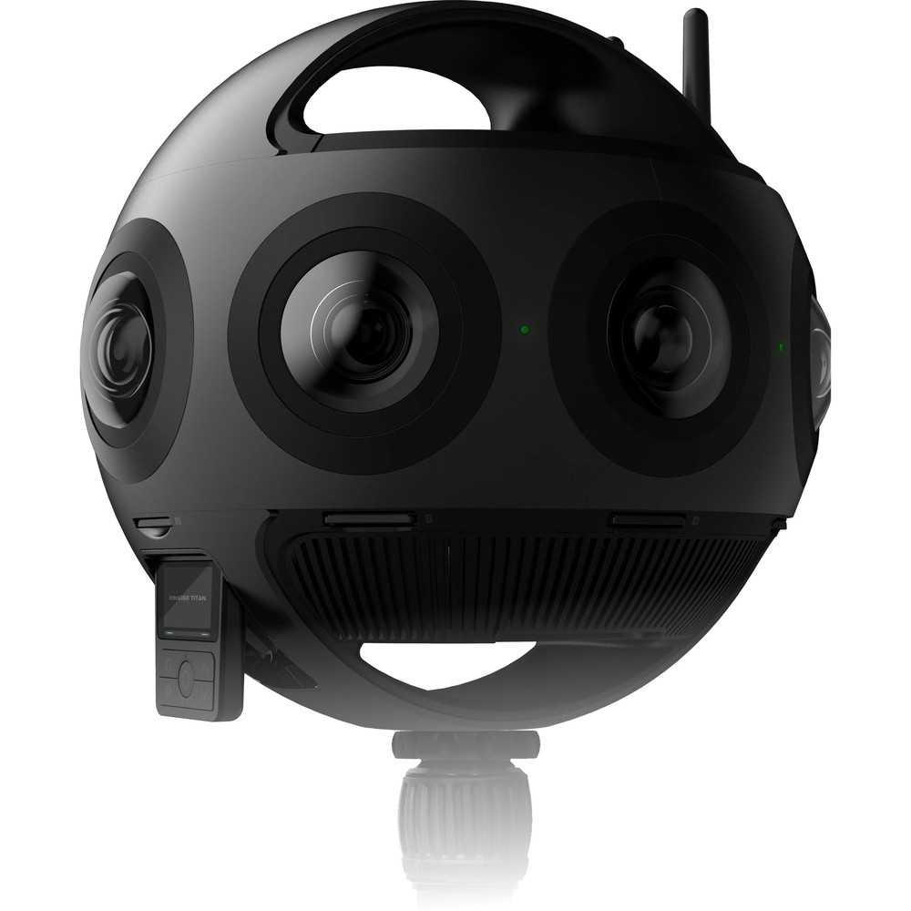 Складная камера insta360 evo снимает 3d видео 180º и видео 360º 5,7k / видео / новости фототехники