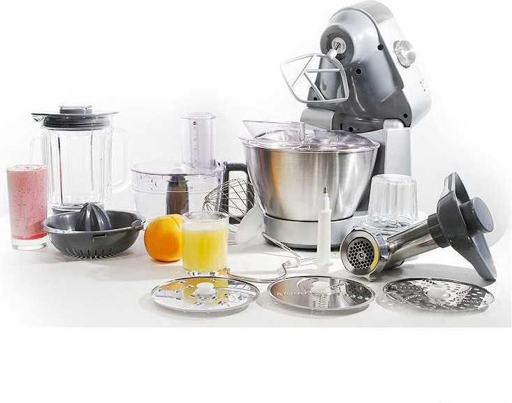 Выбор кухонного комбайна для всей семьи по нужным функциям