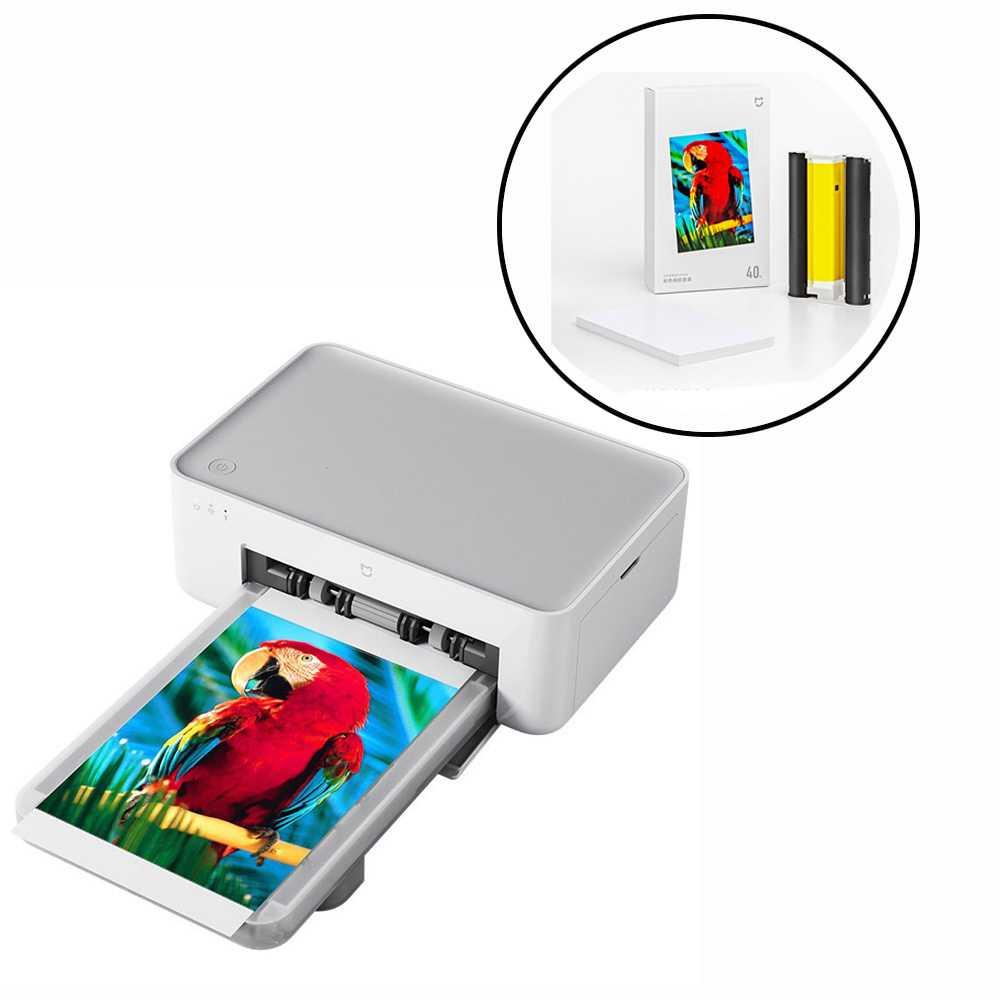 Купить фотопринтер xiaomi mijia photo printer в хабаровске, быстрая доставка, выгодные цены!