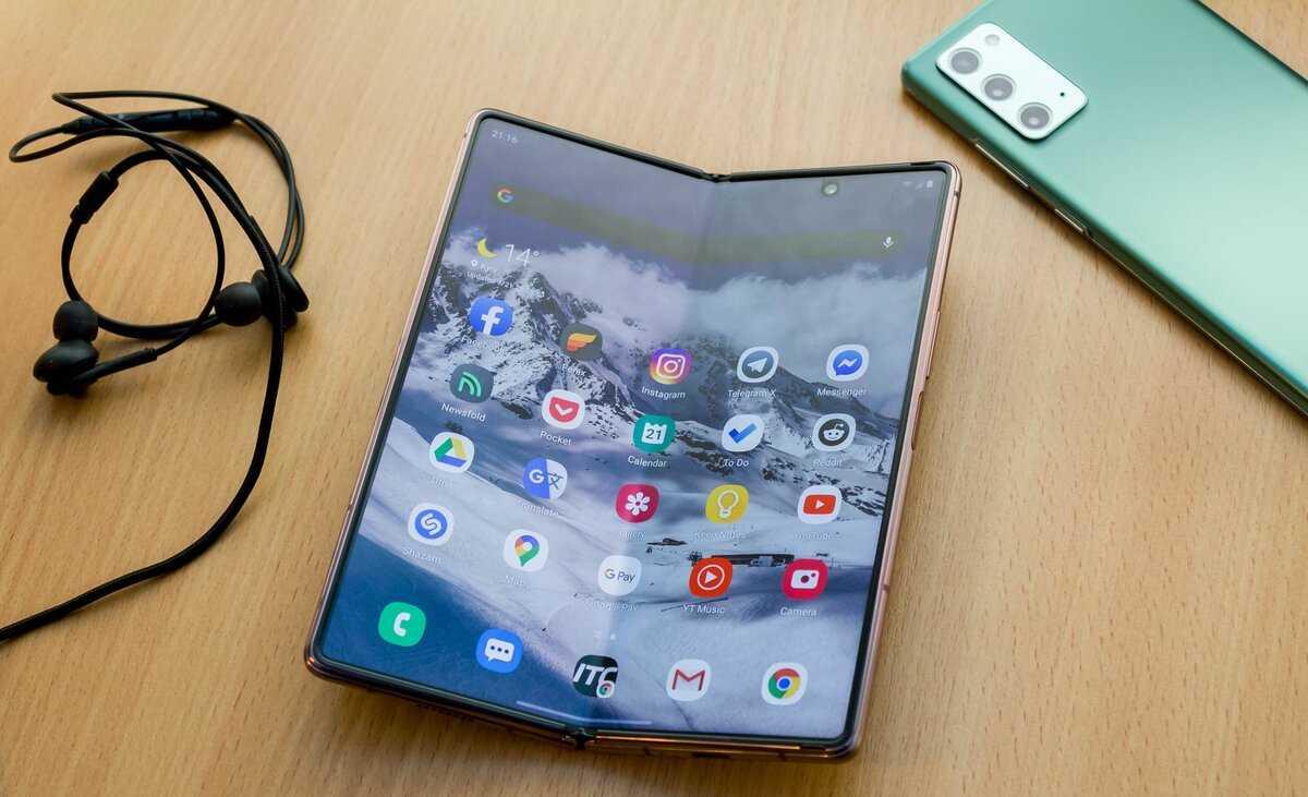 Подержал в руках новый гибкий смартфон galaxy z fold2. хорошая попытка, samsung, но…