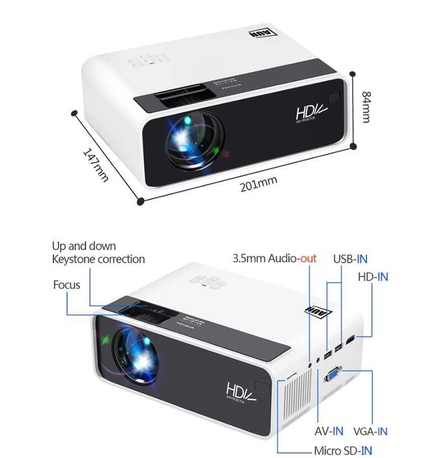Бюджетный проектор w5
