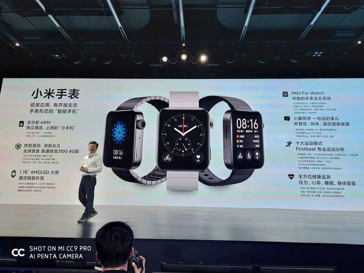 Топ 10 моделей смарт часов от компании xiaomi 2020 года