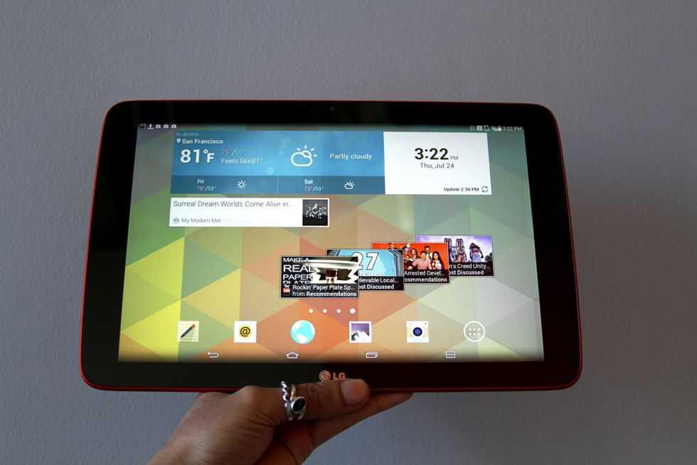 Кто сказал что эра планшетов в прошлом На выставке IFA 2021 компания LG в очередной раз бросила вызов стереотипам и рассказала о предстоящей презентации планшета
