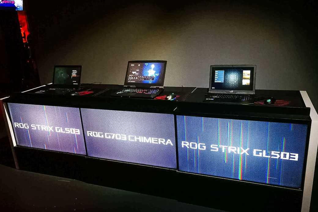 На днях компания Asus провела мероприятие посвященное своим новым игровым девайсам В рамках презентации новинок серии Republic of Gamers был показан портативный