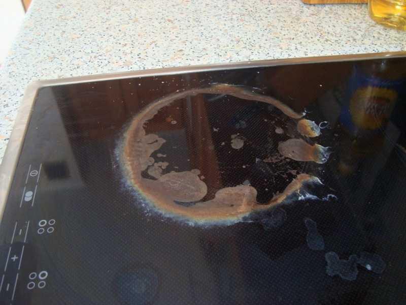 Как и чем очистить стеклокерамическую плиту – 7 способов