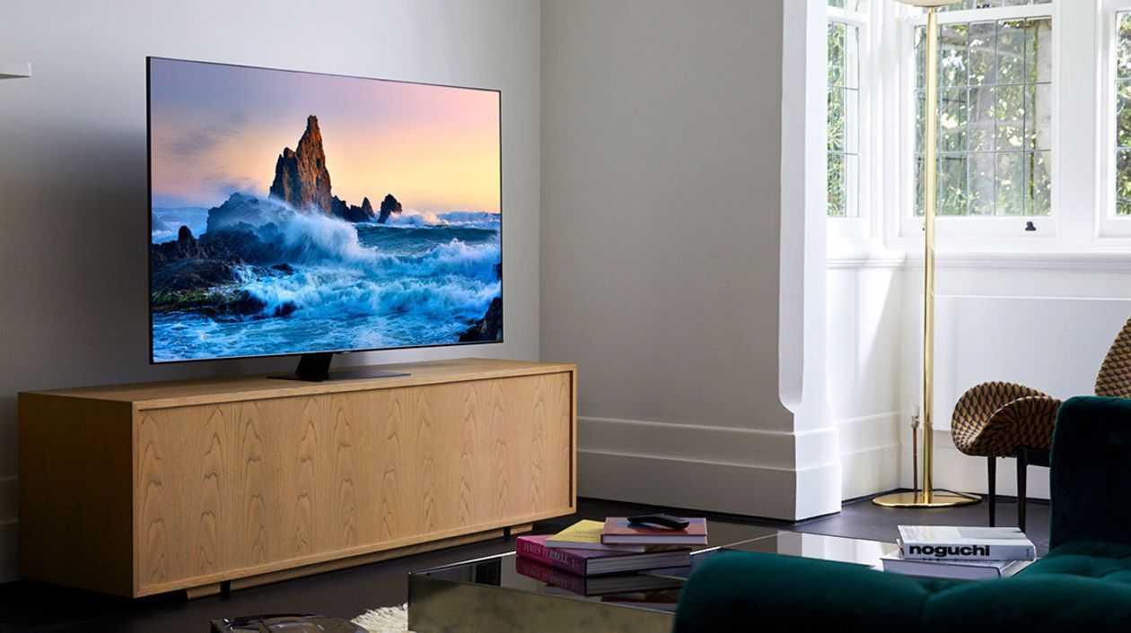 Samsung готовит первый в мире безрамочный телевизор премиум-класса