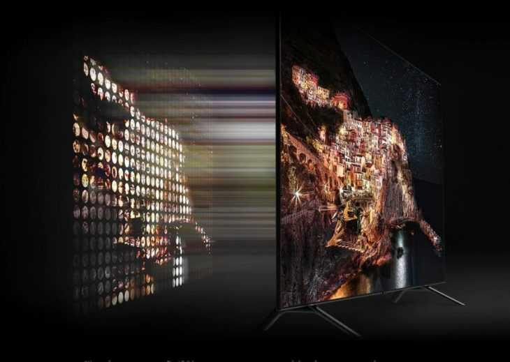 Новый телевизор компании xiaomi получил тонкие рамки и доступную цену